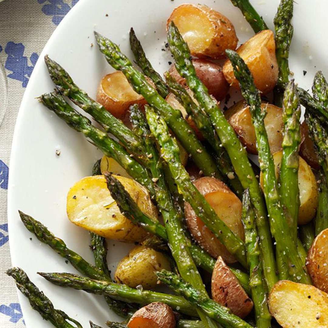 Make it a Meal - Small Potatoes & Asparagus